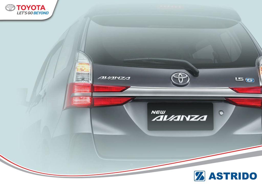 Toyota AStrido - 6 Keunggulan Toyota Avanza di Kelasnya